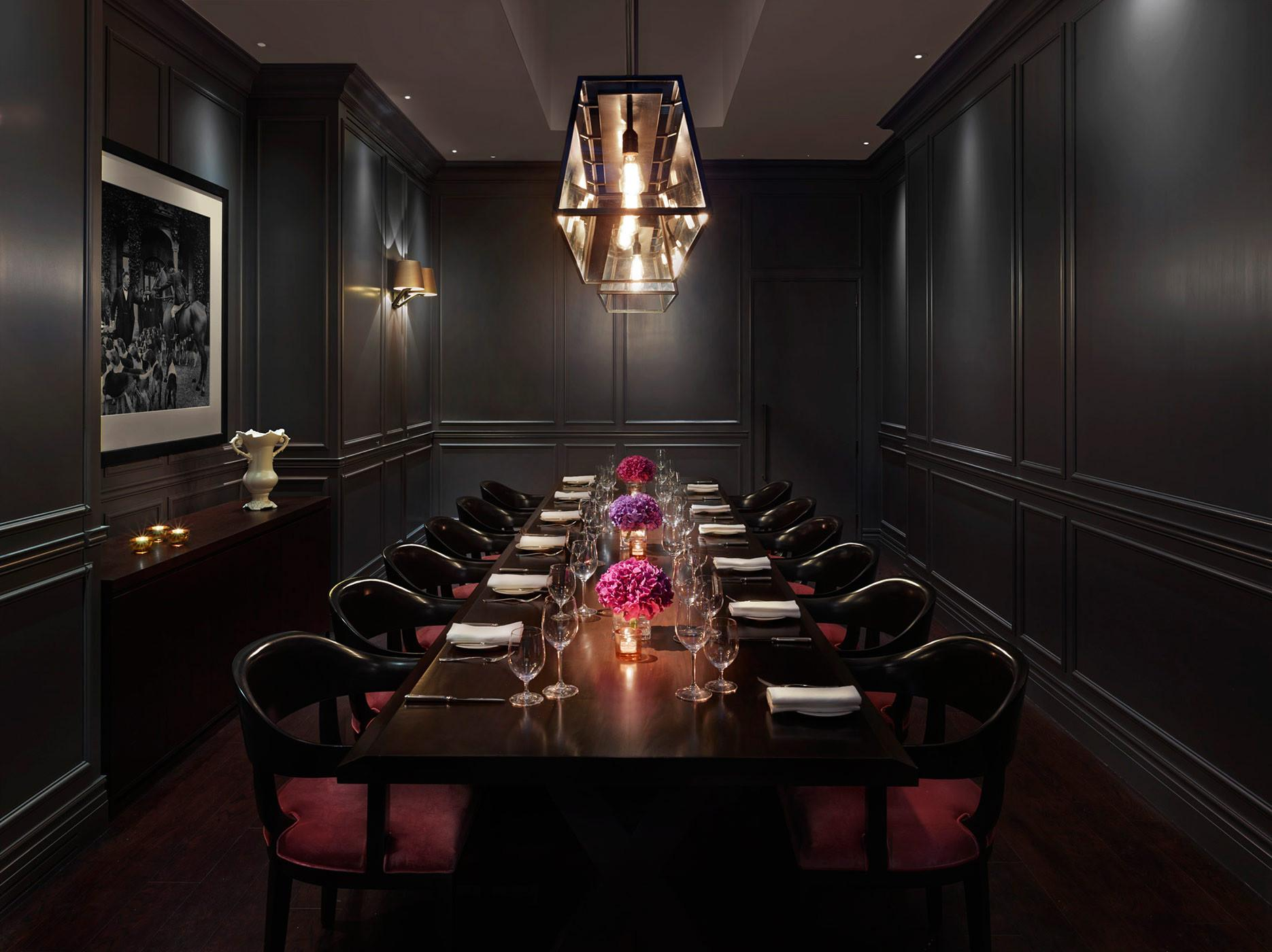 London Edition Private Dining Room