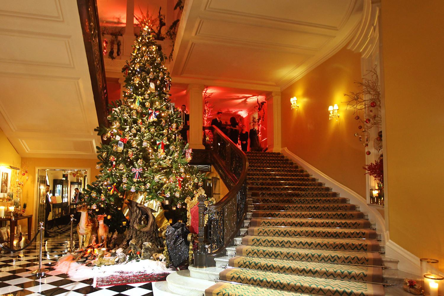 London Most Beautiful Christmas Trees