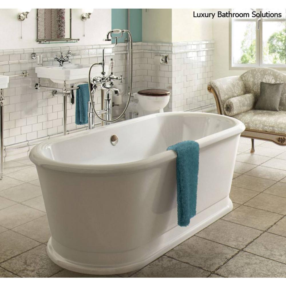 London Round Soaking Tub Luxury Designer Freestanding