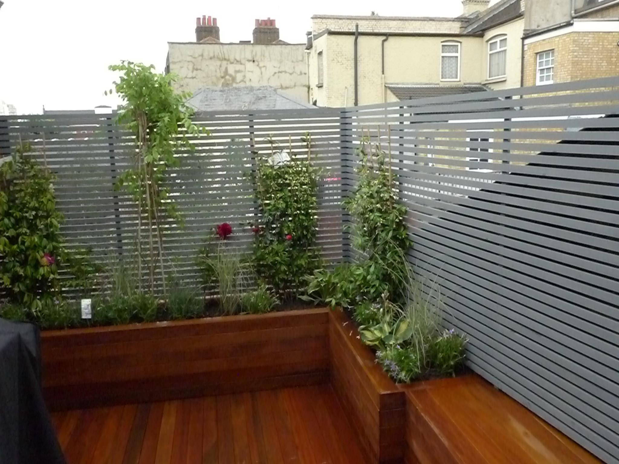 London Small Roof Garden Ideas Design