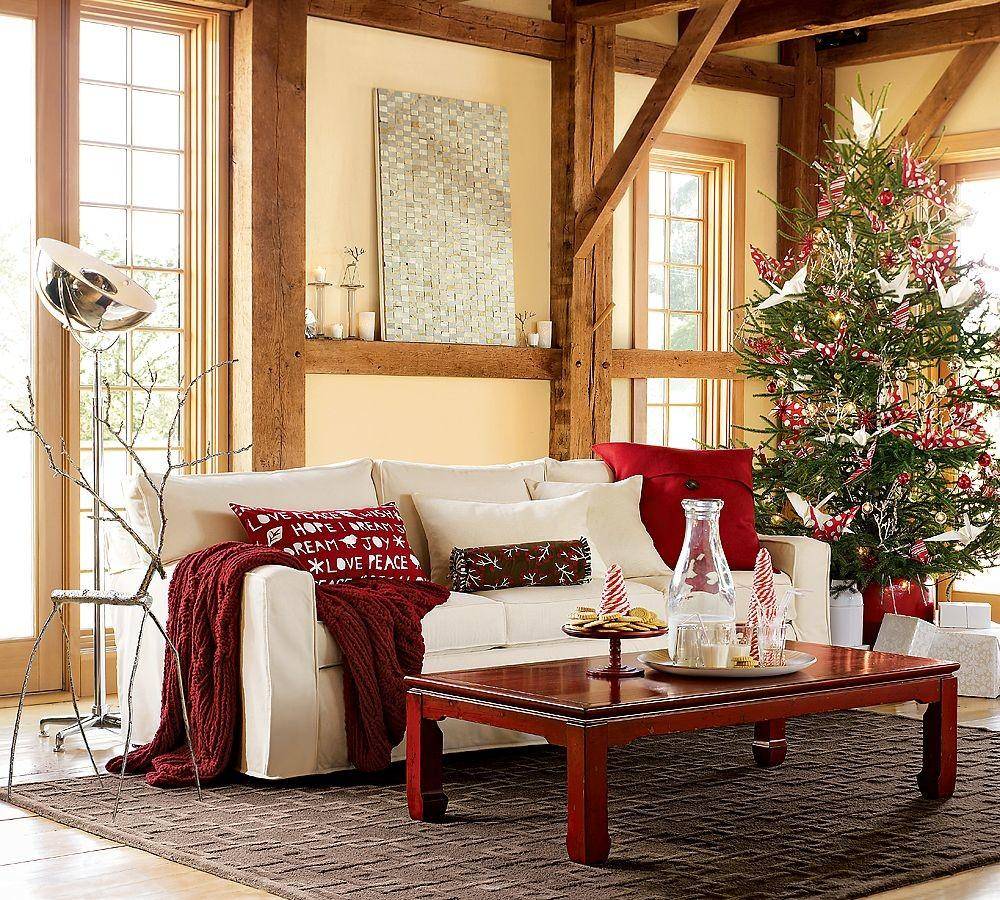 Looking Simple Cozy Pottery Barn Living Room