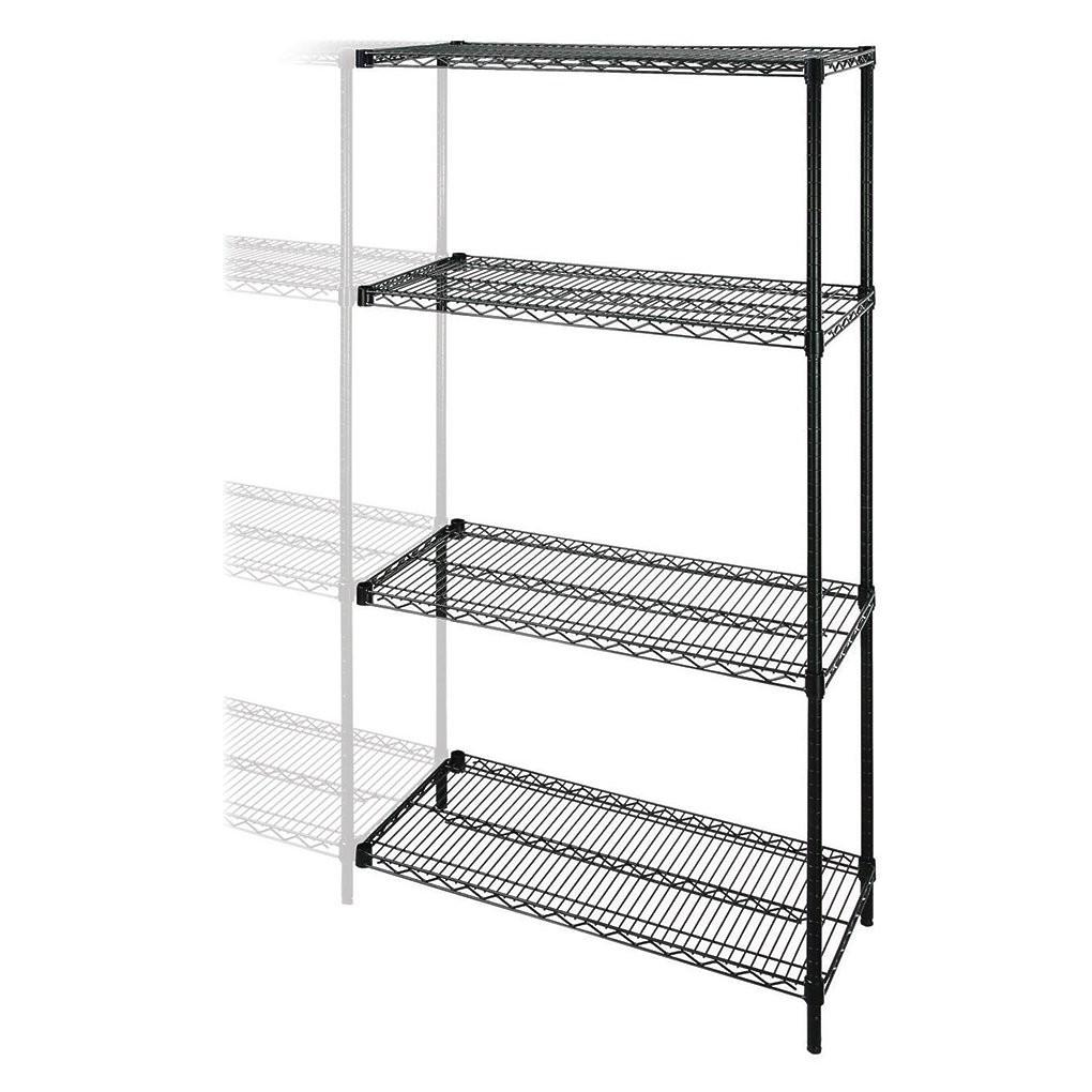 Lorell Industrial Wire Shelving Add Unit