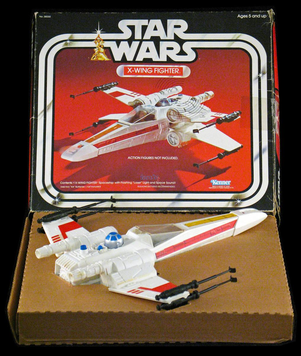 Lot Detail 1977 Star Wars Wing Fighter Box