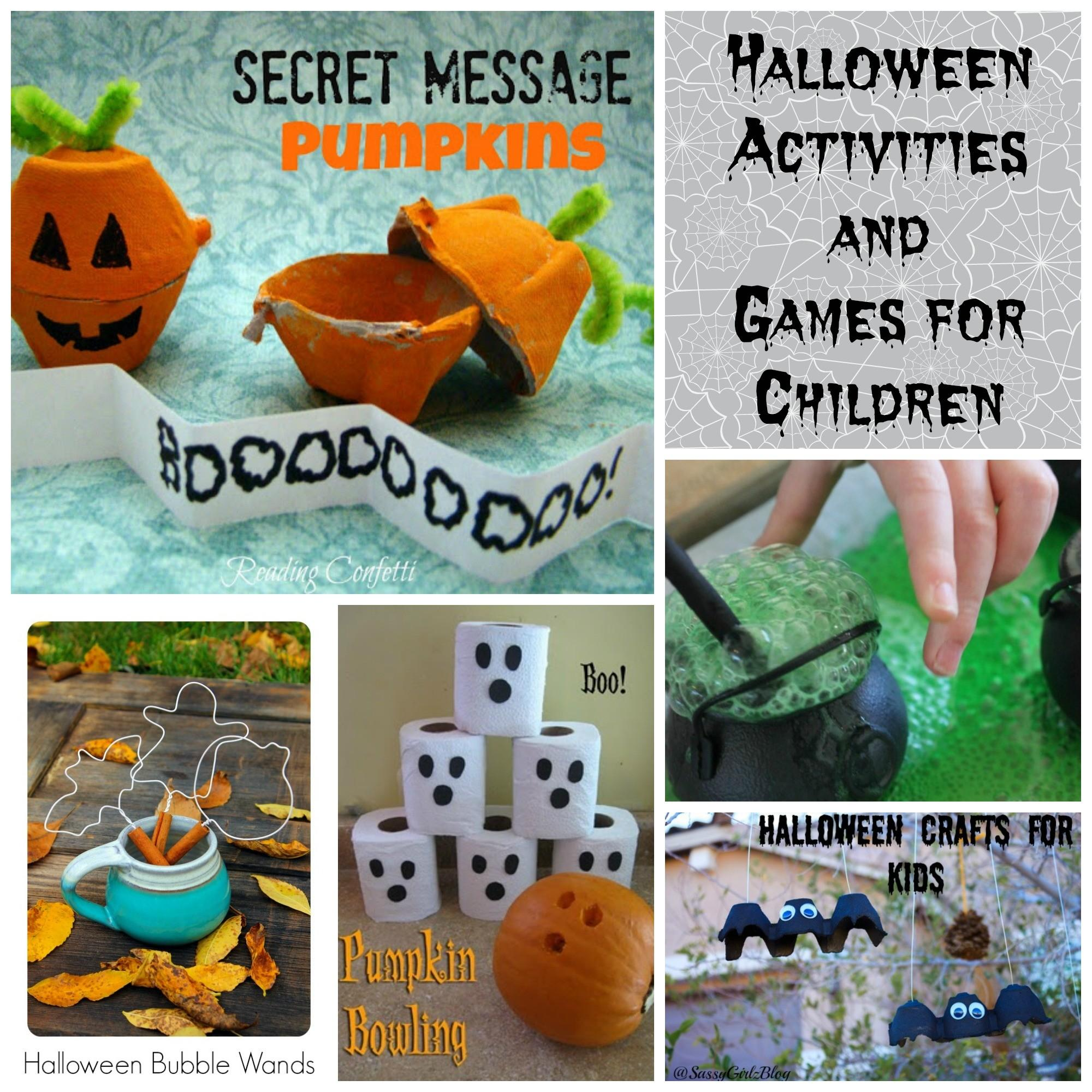 Lots Halloween Costumes Activities Treat Ideas