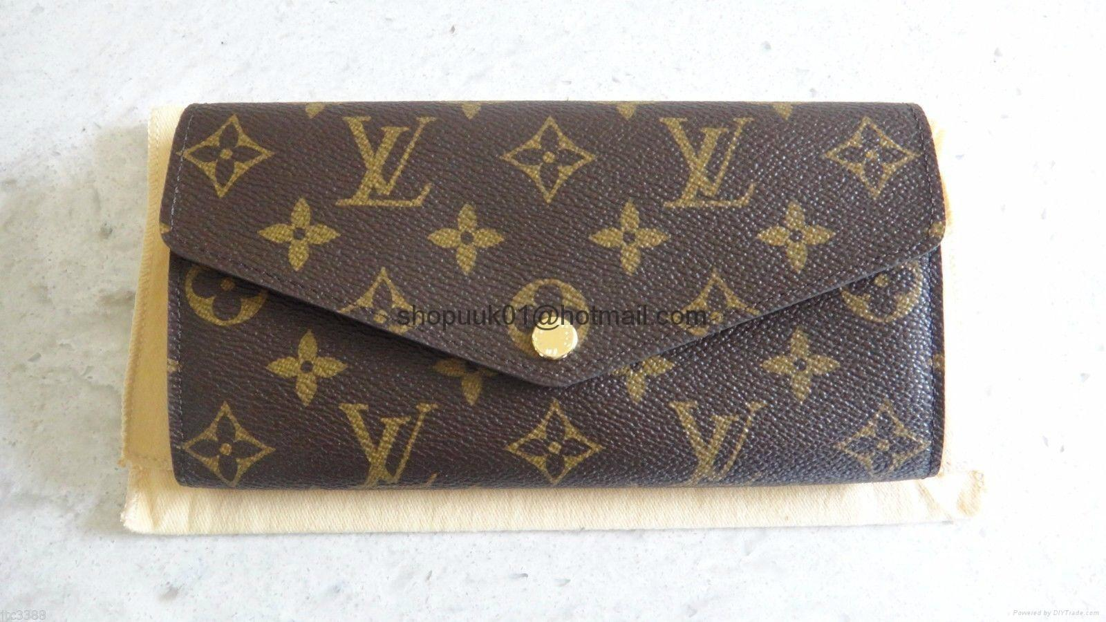 Louis Vuitton Monogram Sarah Nm3 Wallet Pochette Clutch