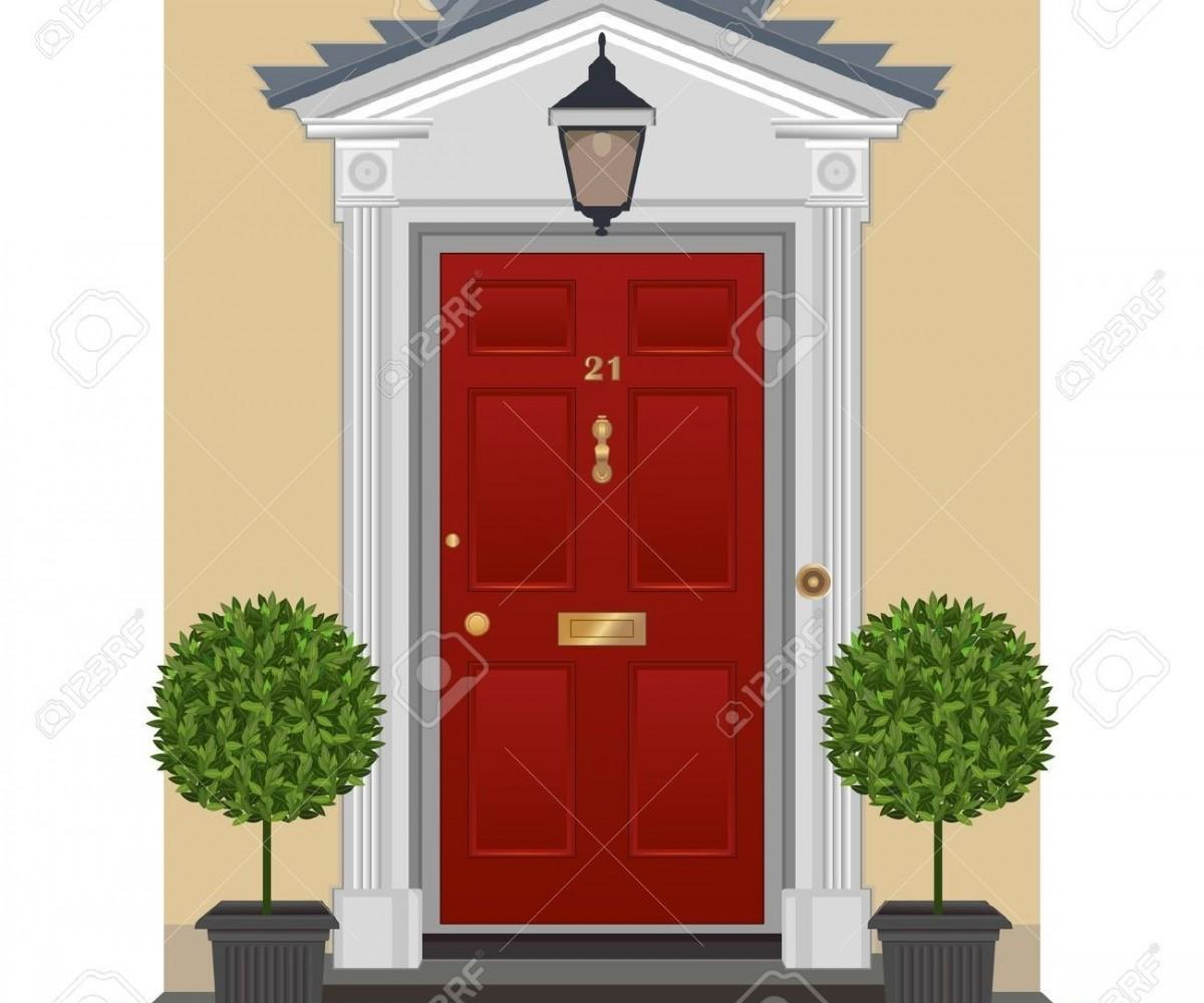 Lovable Spring Red Front Door Project Taleof