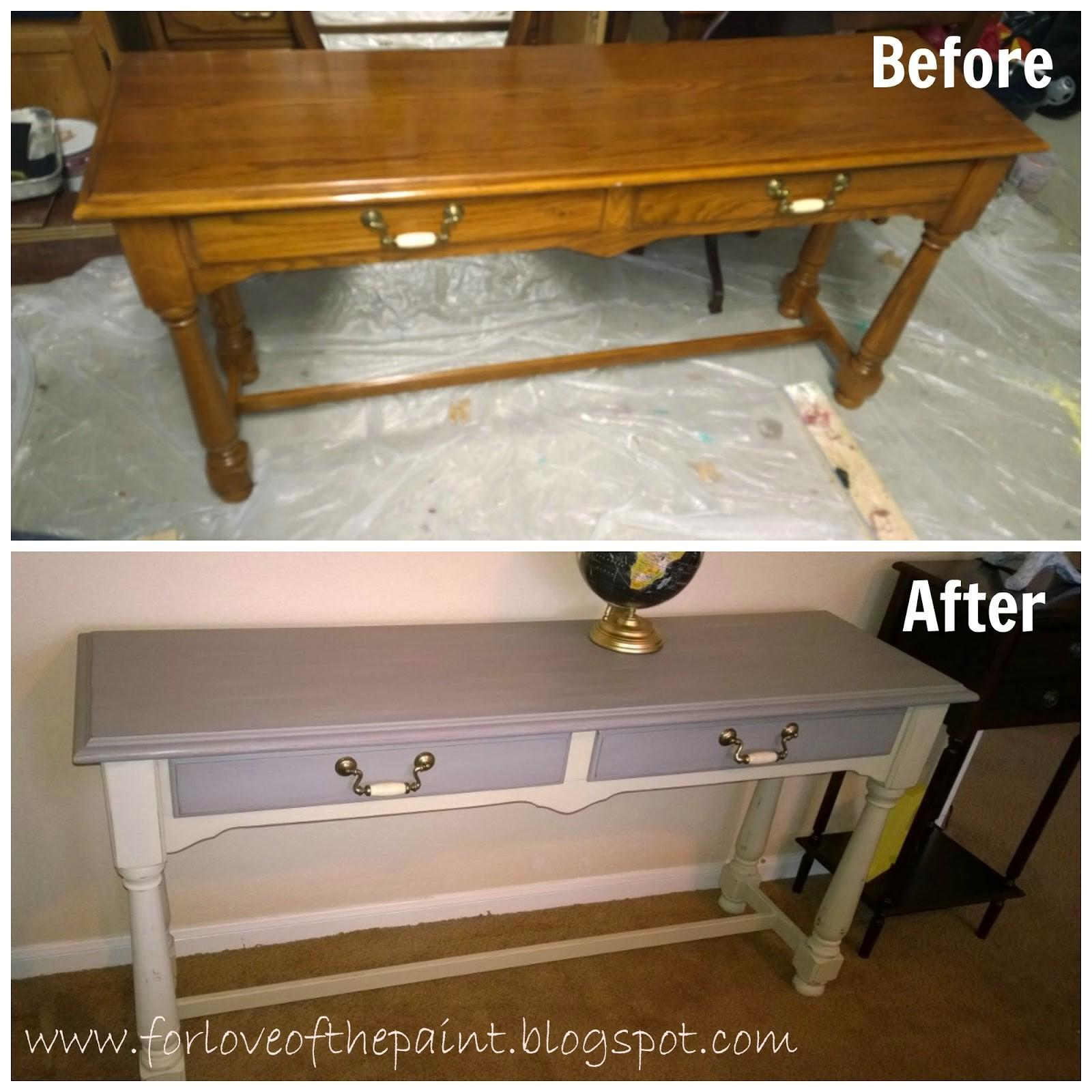 Love Paint Before After Thomasville Sofa