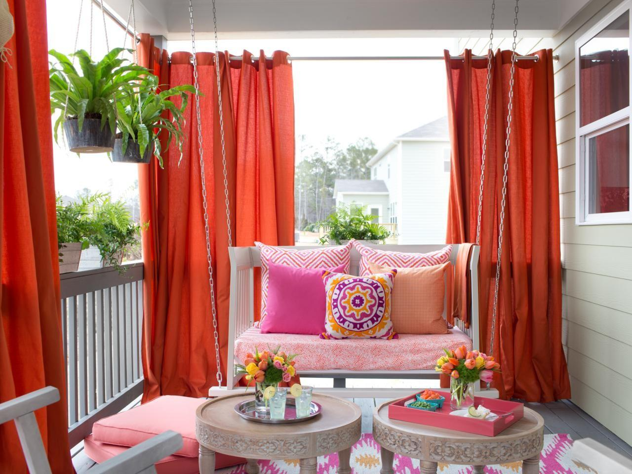 Love These Ideas Beautiful Outdoor Curtains Diy