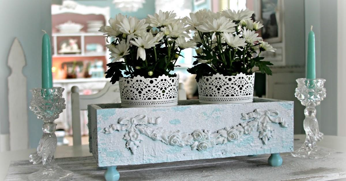 Love White Shabby Chic Table Box