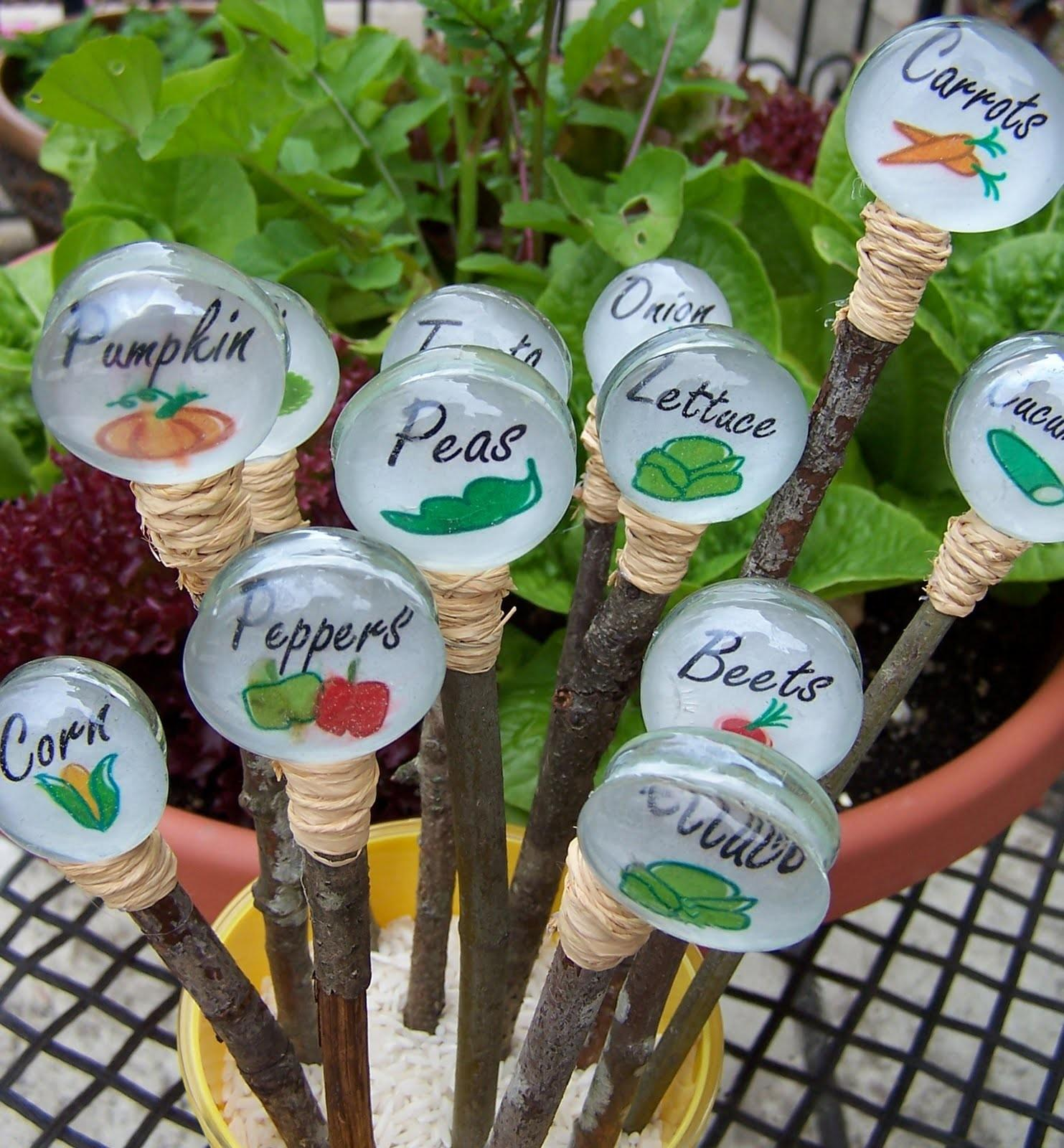 Love Your Garden These Adorable Diy Plant Markers