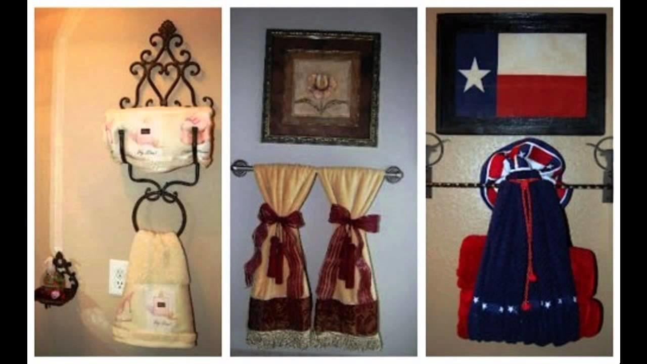 Lovely Bathroom Towel Decorating Ideas Awesome Home