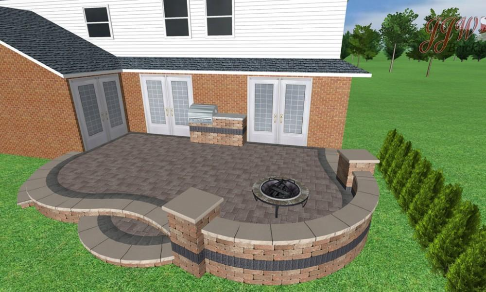 Lovely Brick Paver Patio Design Ideas 223