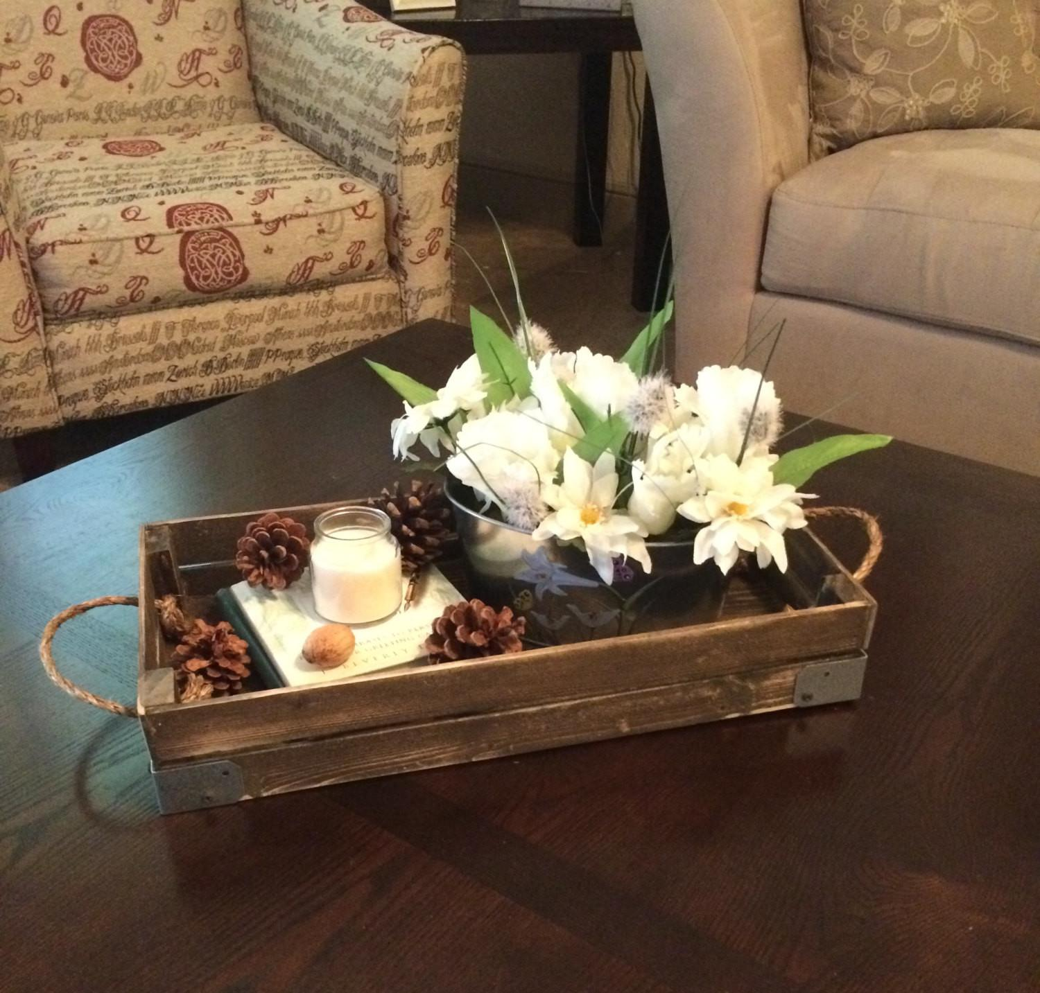 Lovely Decorative Tray Coffee Table Trays