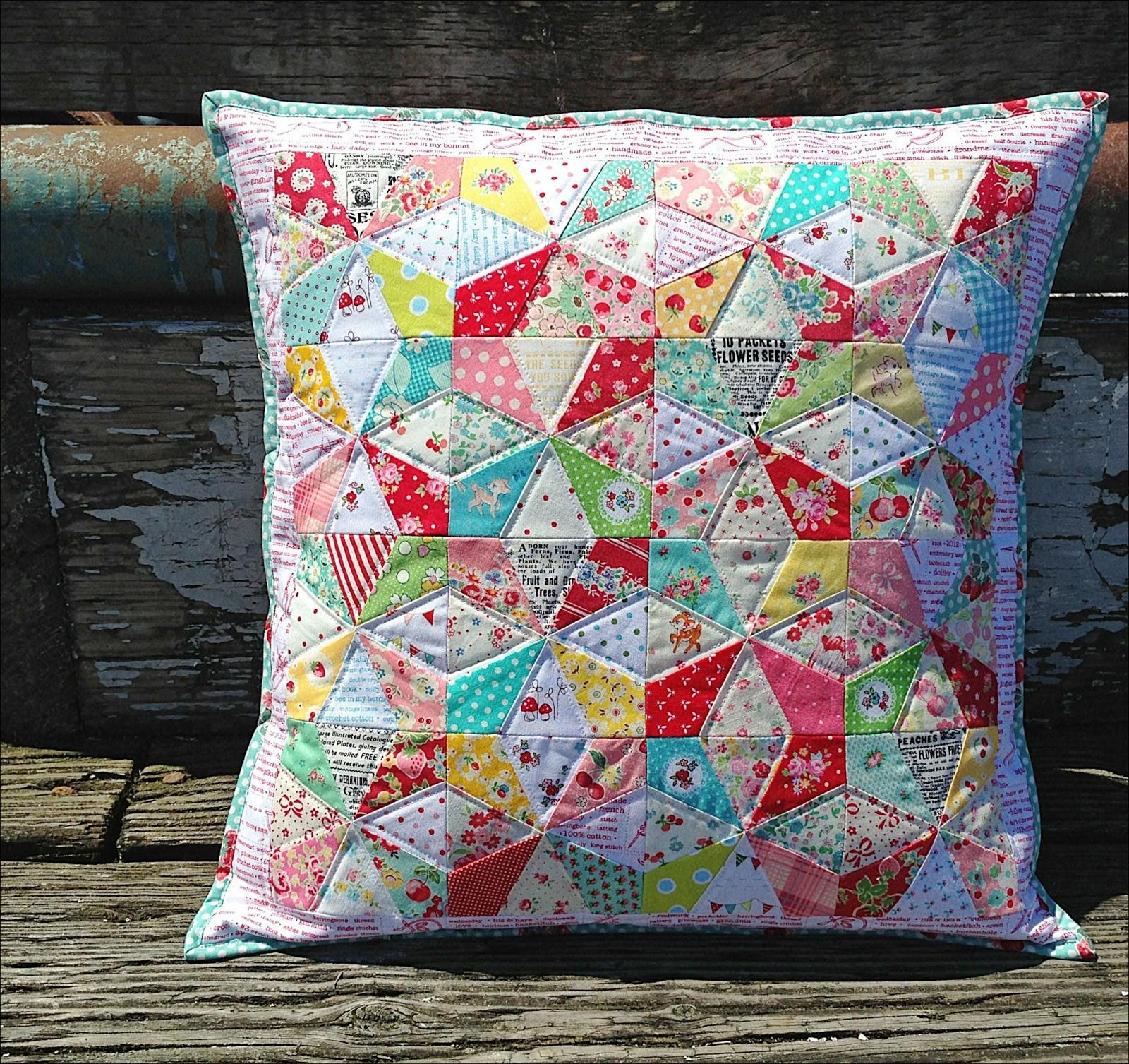 Lovely Little Handmades Kaleidoscope Pillow