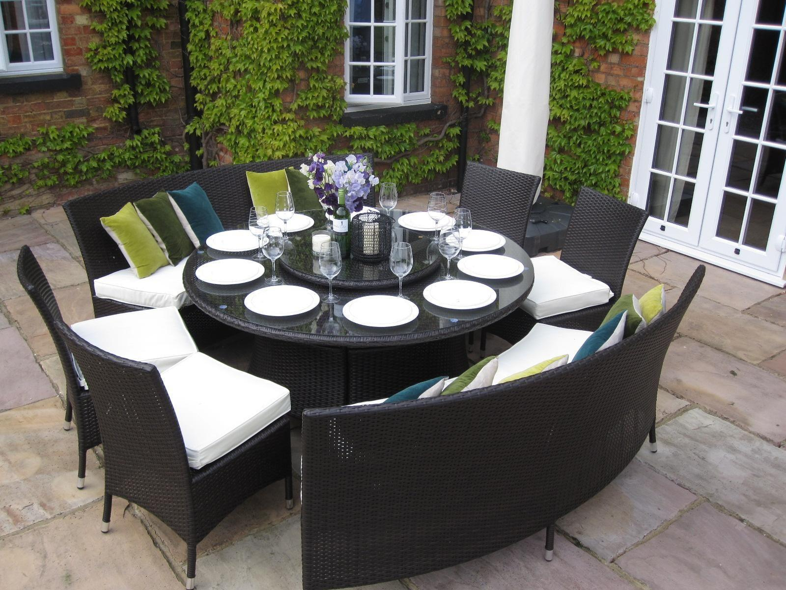 Lovely Outdoor Dining Table Decorations Light Room