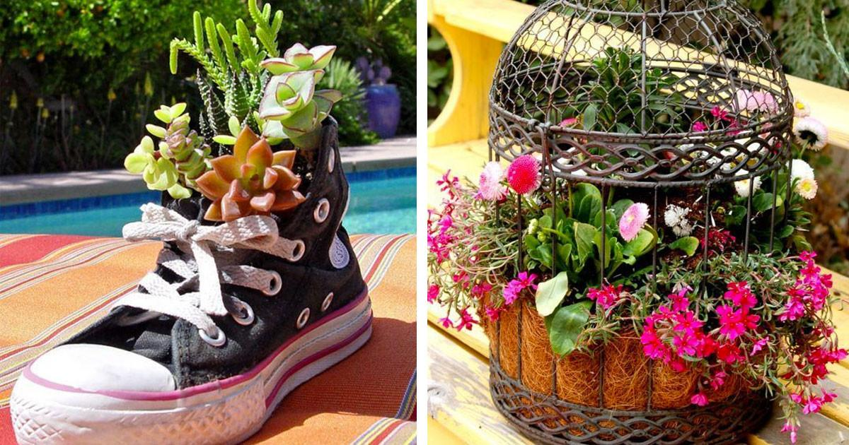Lovely Planter Ideas Never Thought Must
