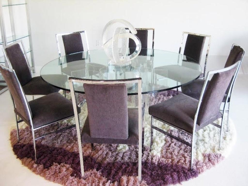 Lovely Round Dining Table Inspiration Light Room