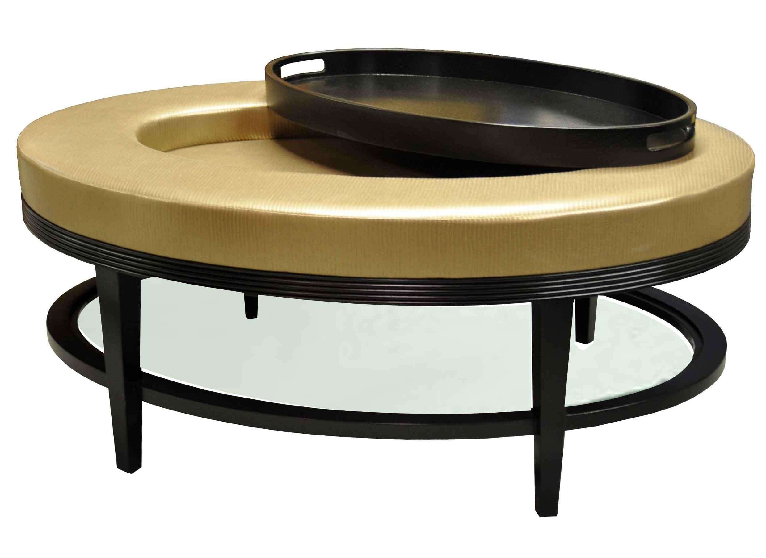 Lovely Round Trays Coffee Tables Table