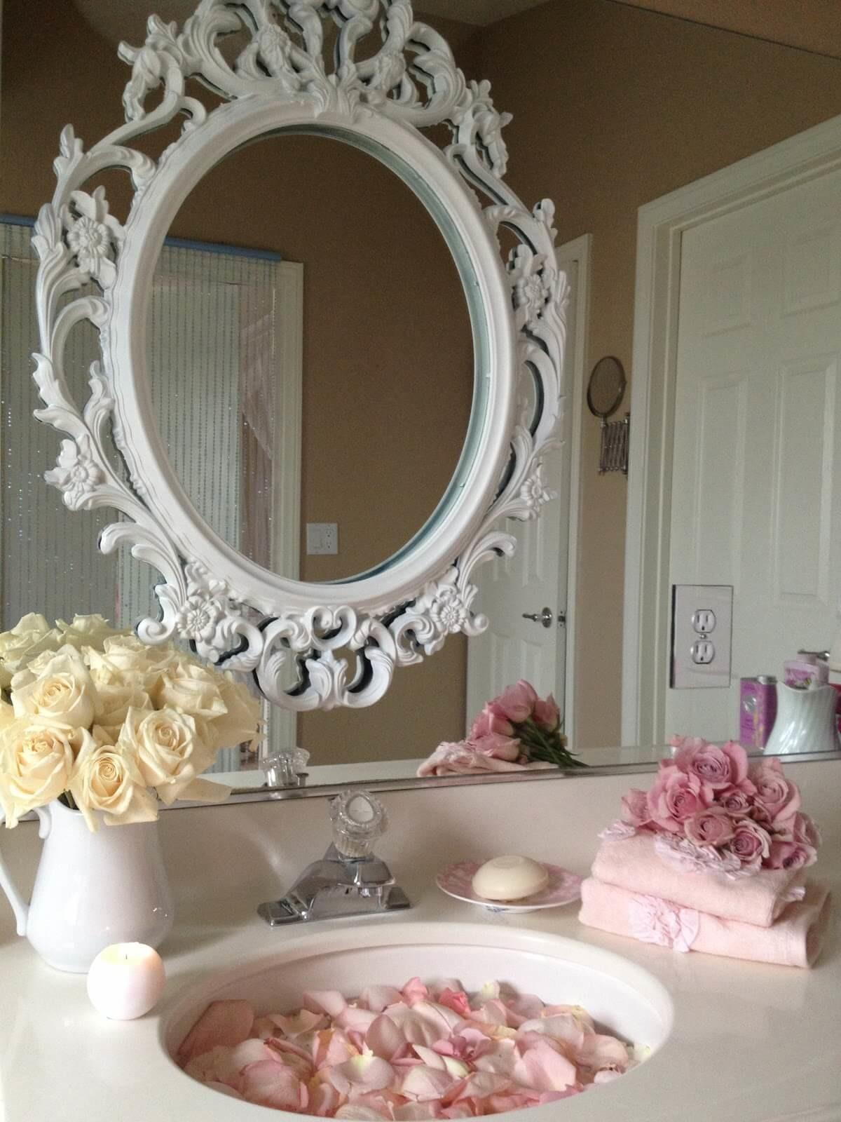 Lovely Shabby Chic Bathroom Decor Ideas Style Motivation