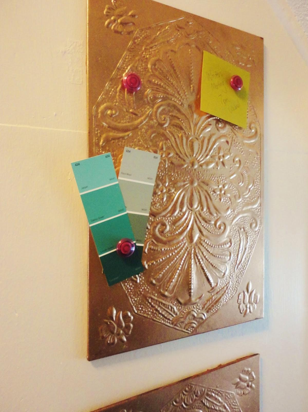 Lovely Side Copper Magnetic Memo Board Diy