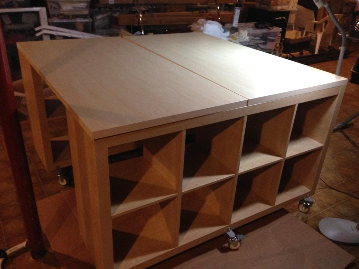 Lovely South Shore Crea Counter Height Craft Table