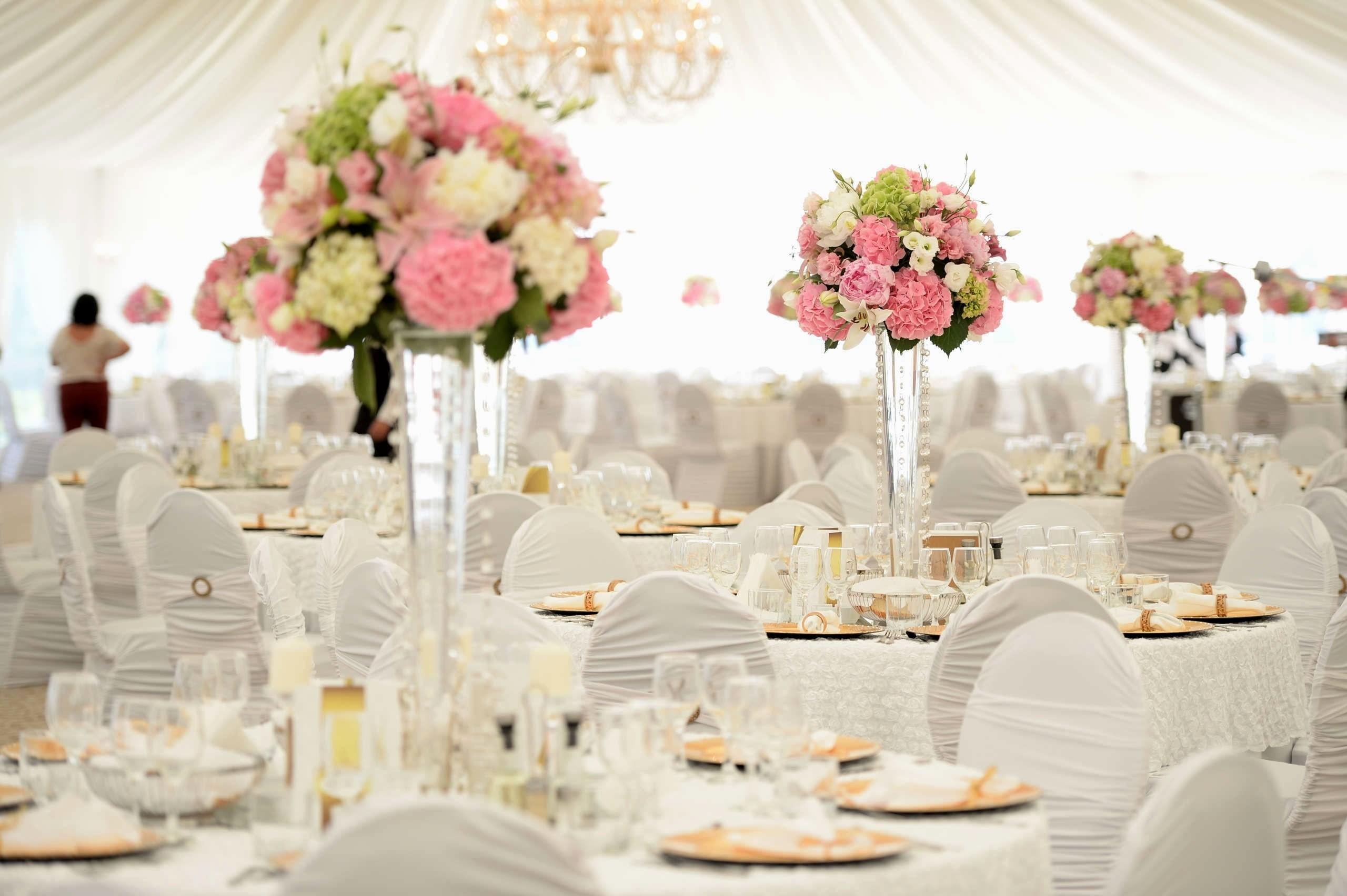 Lovely Wedding Party Decorations Pink