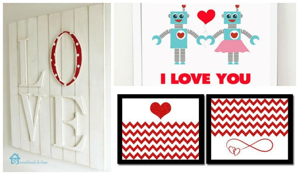 Loving Diy Valentine Day Wall Art Ideas