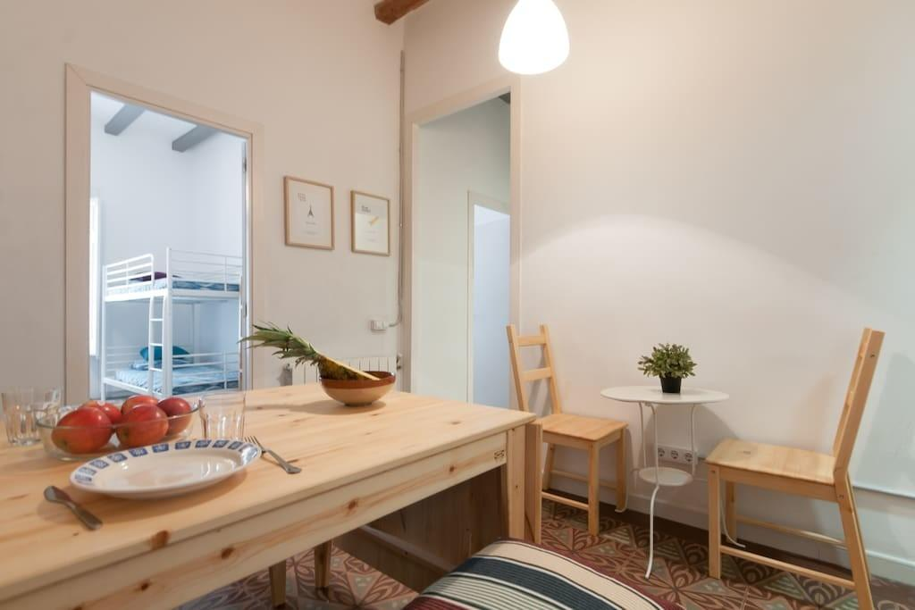 Low Cost Flat Near Park Guell Apartments Rent
