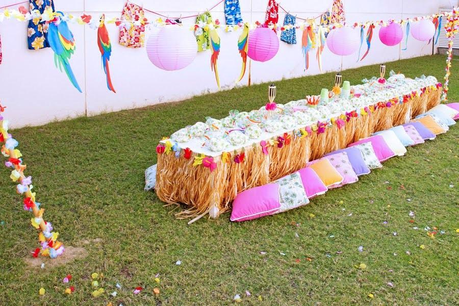 Luau Party Decor Ideas All Home