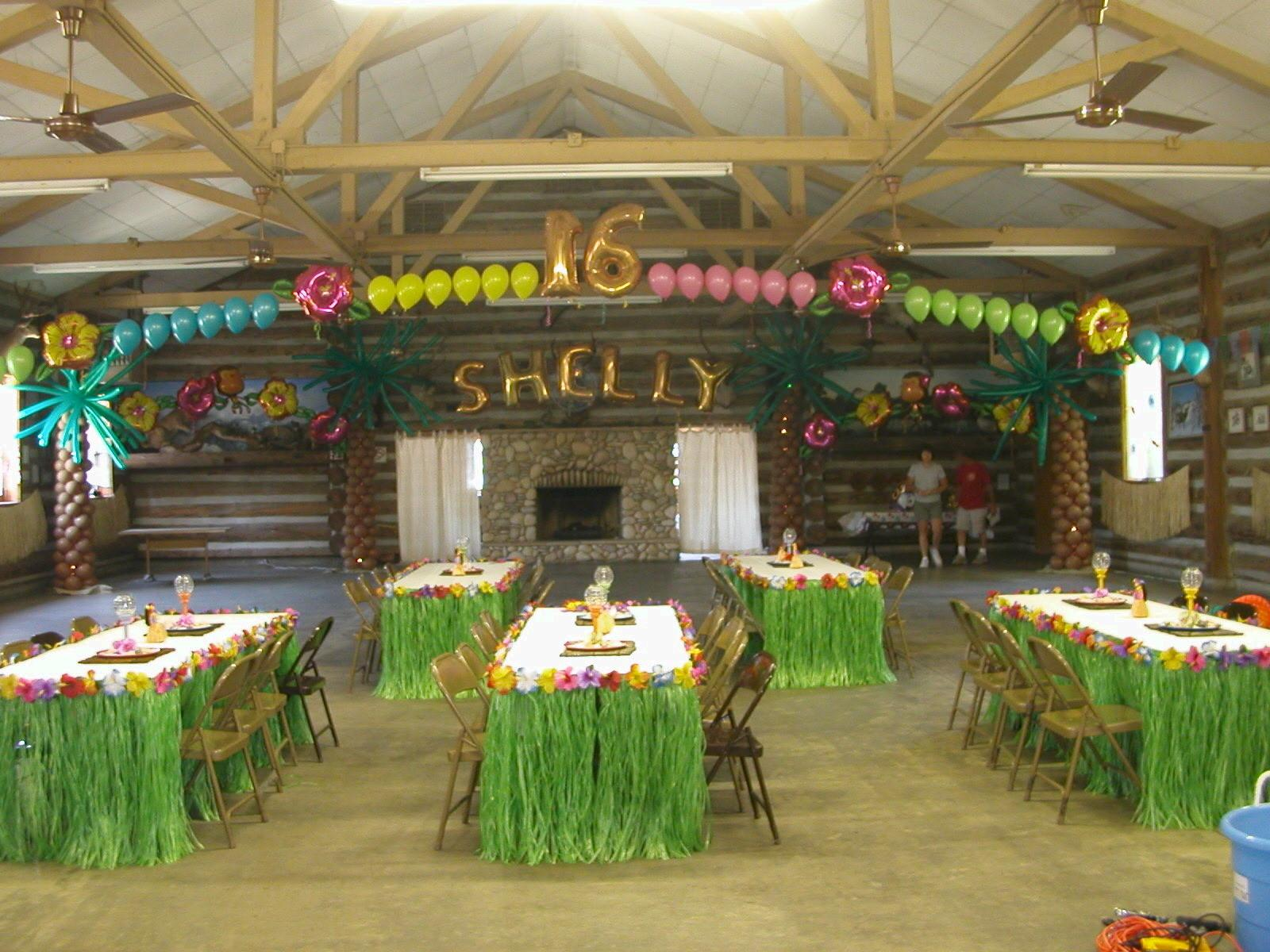 Luau Party Ideas Food Special Touch
