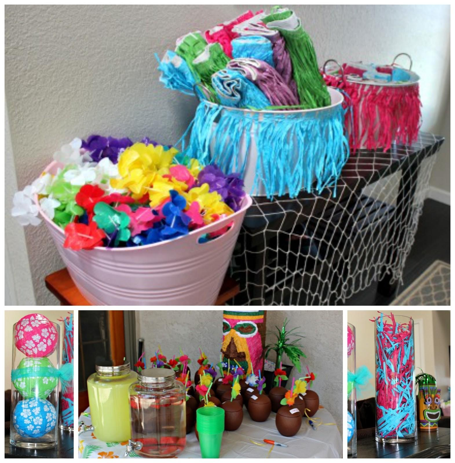 Luau Party Ideas Naptime Reviewer