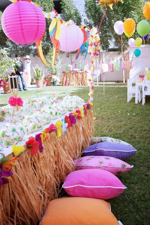Luau Party Theme All Home Decor Ideas