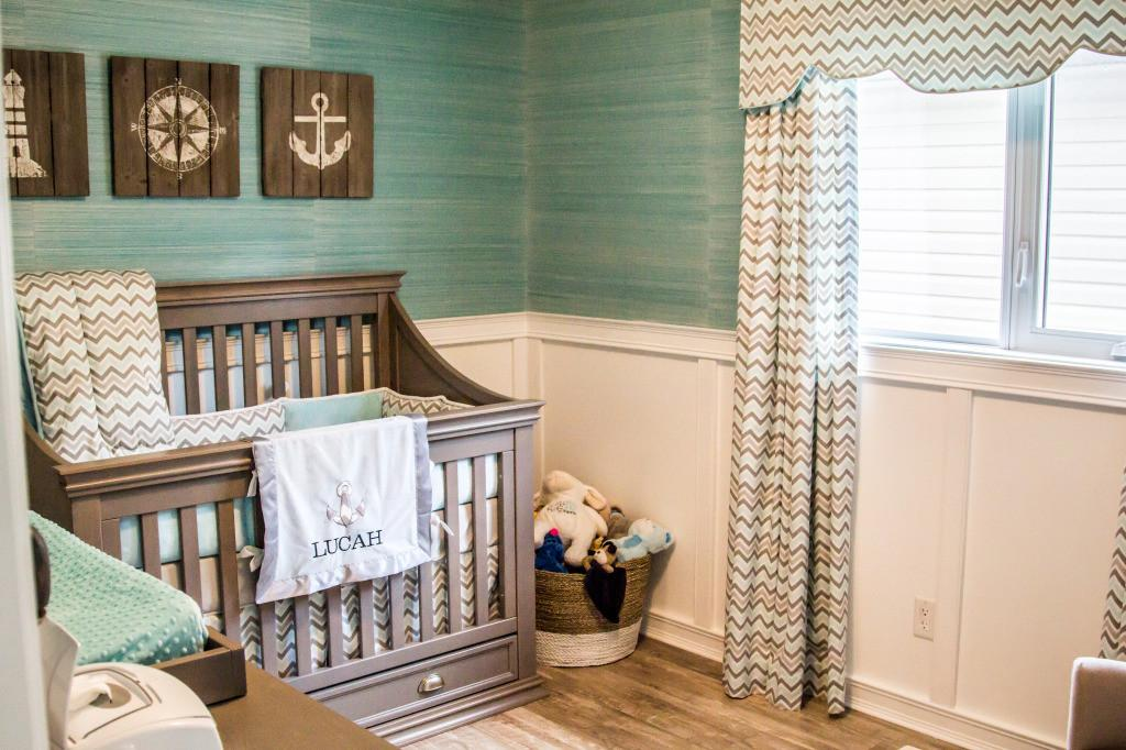 Lucah Coastal Inspired Nursery Project