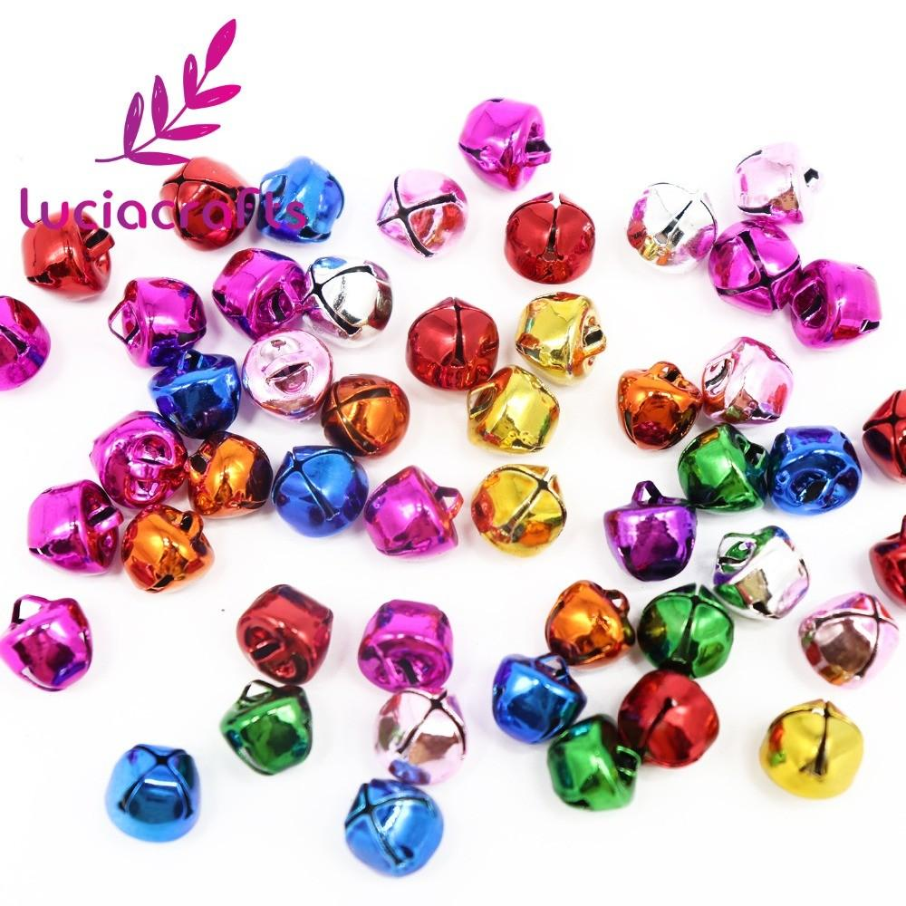 Lucia Crafts Gold Colorfull Jingle Bells Christmas