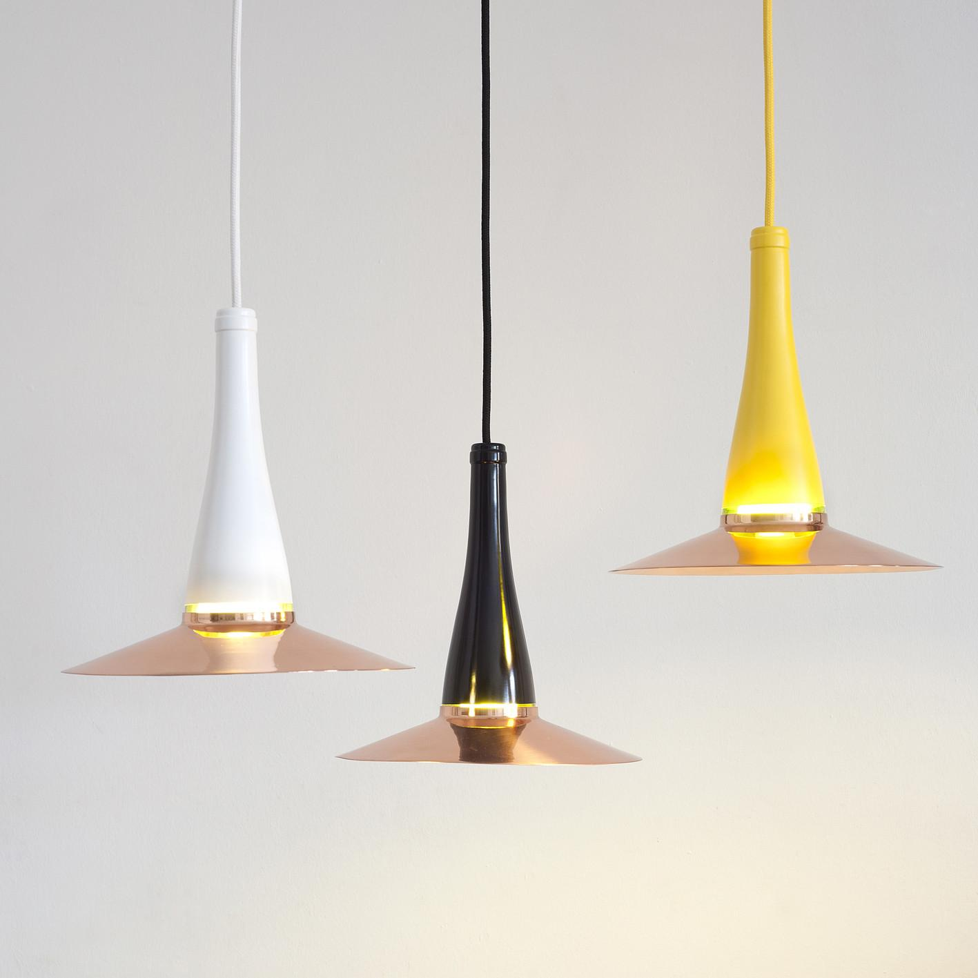 Lucirm Presents Laflor Lamp Upcycled Wine Bottle