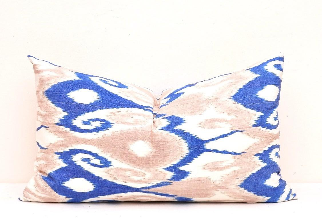Lumbar Ikat Pillow Cover Alesouk Grand Bazaar