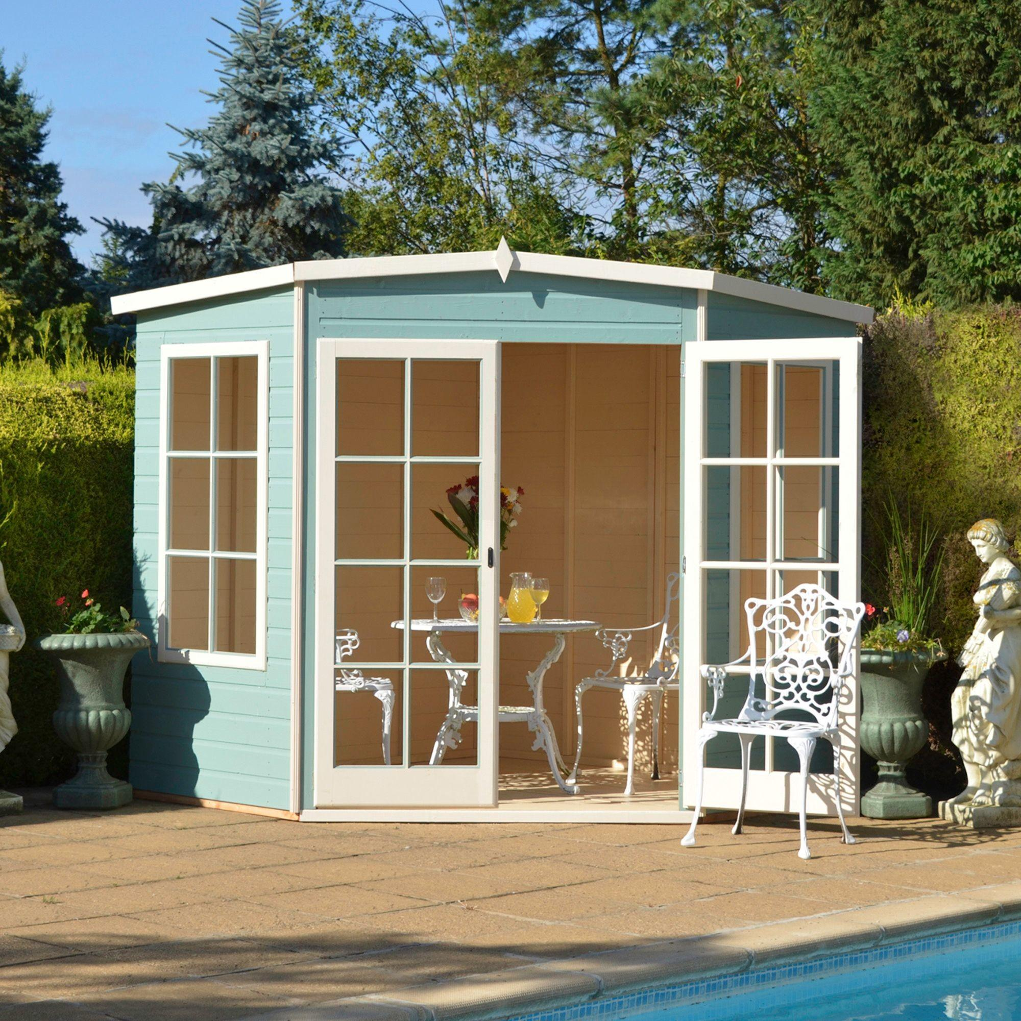 Lumley Shiplap Timber Summerhouse Base Frame