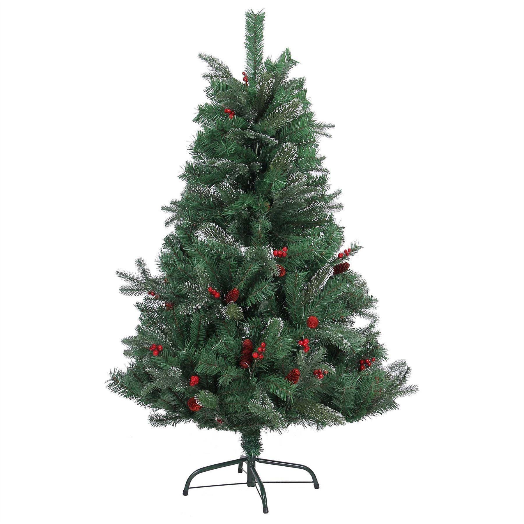 Luxurious Artificial Christmas Tree Natural Looking 4ft