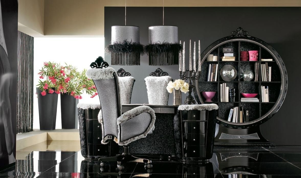 Luxurious Black Grey House Interior Stylehomes