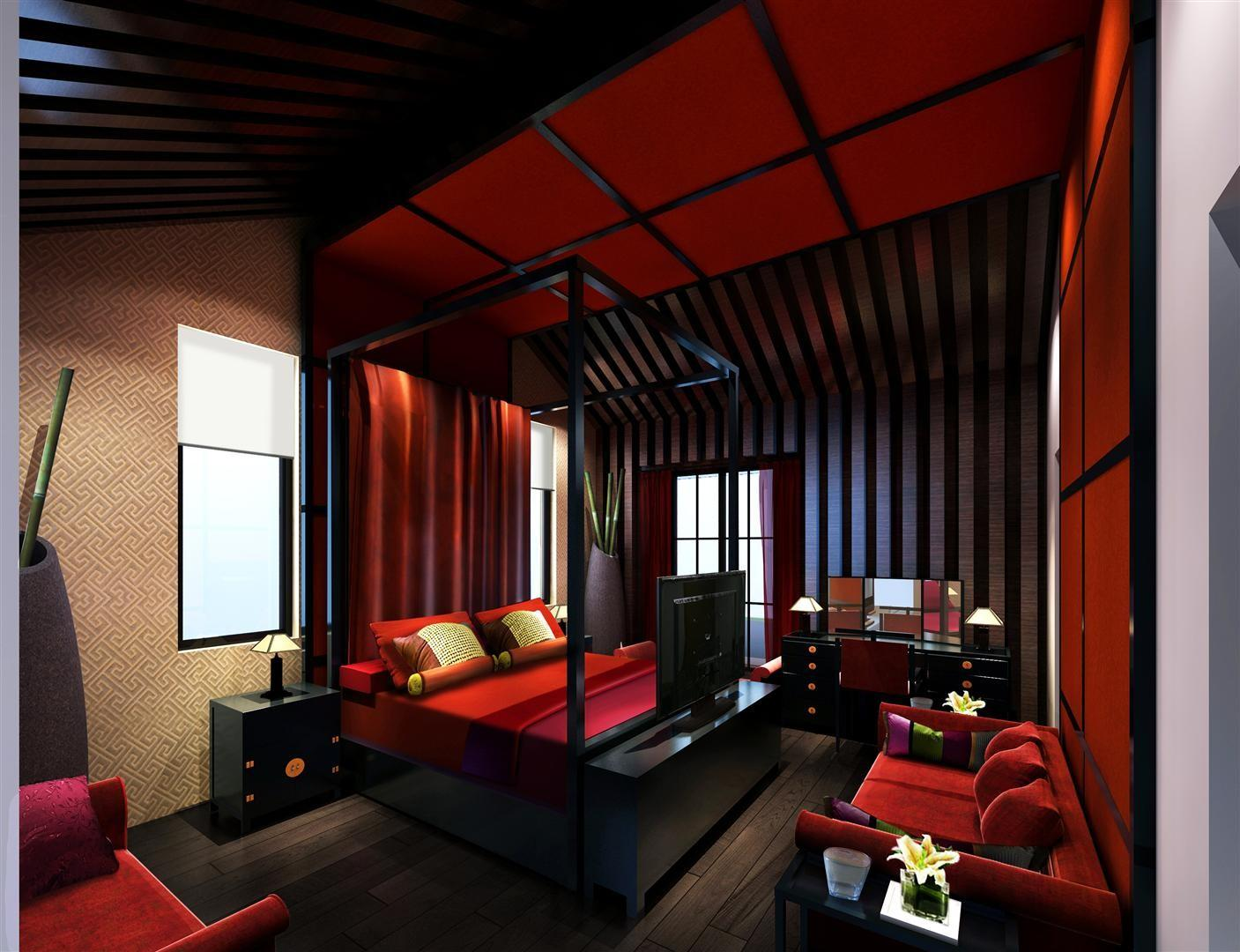 Luxurius Asian Themed Bedroom Hd9c14 Tjihome