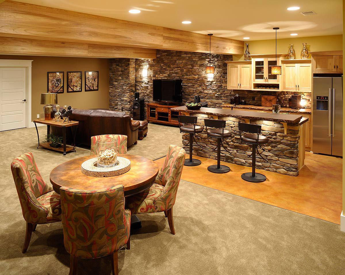 Luxury Basement Bar Ideas Home Decorating