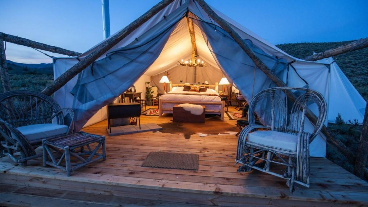 Luxury Camping Glamping Retreats Future