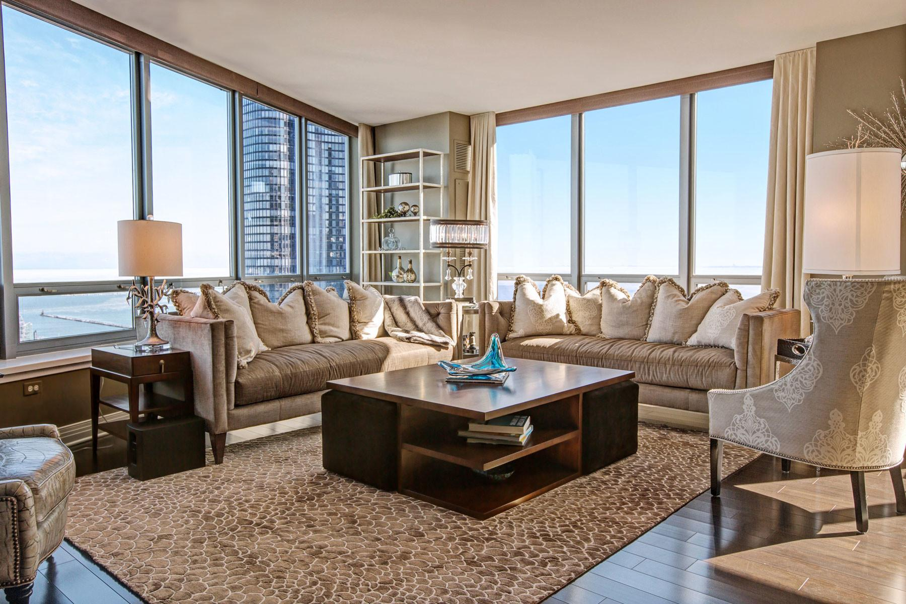 Luxury Chicago Condo Interior Design Apartment