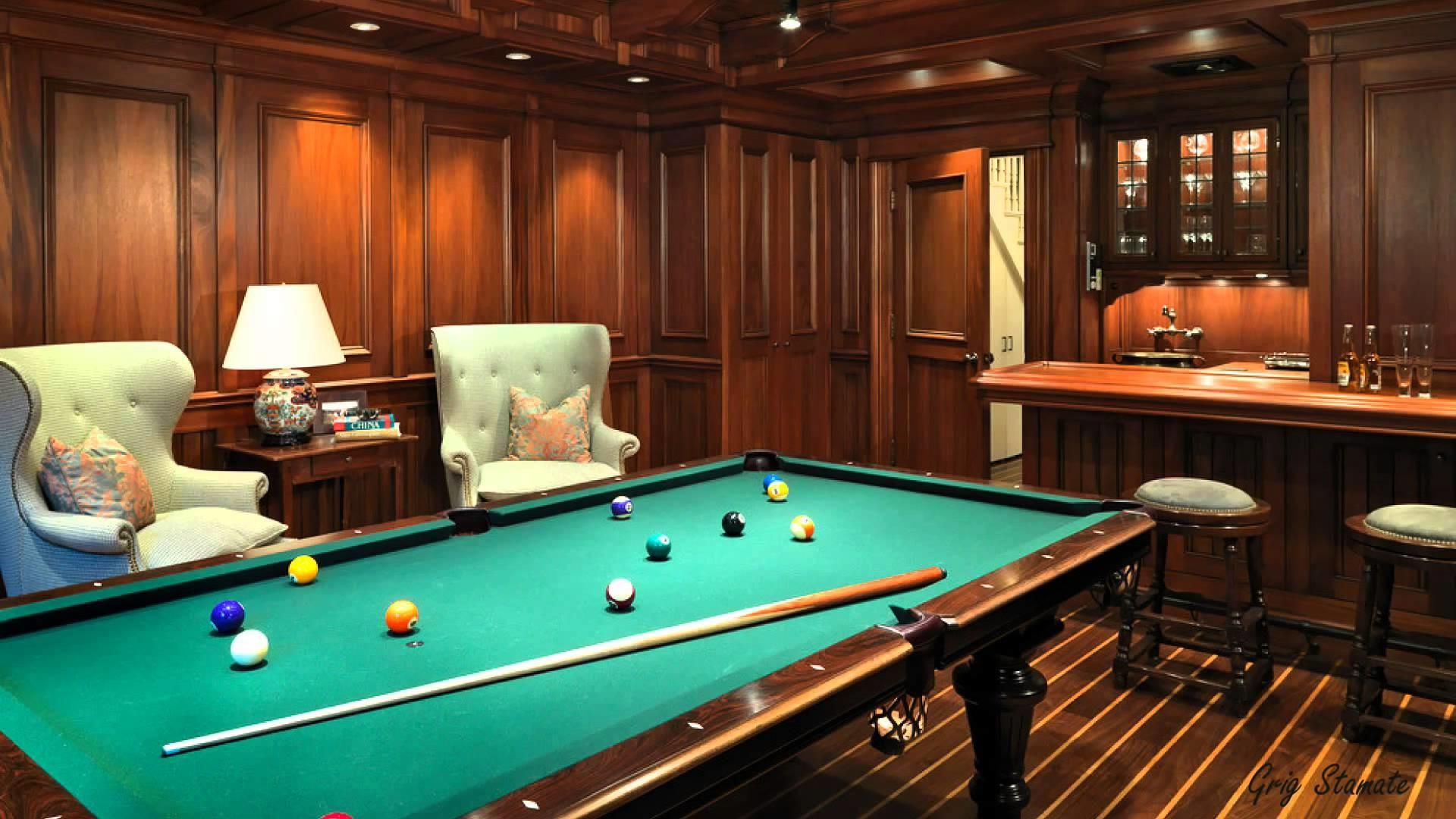 Luxury Custom Designed Billiard Rooms