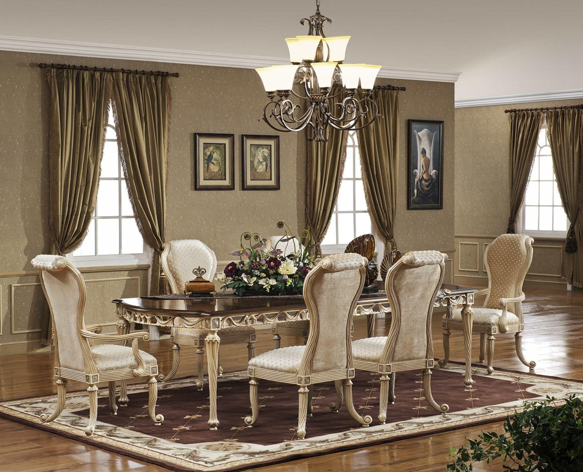 Luxury Dining Room Tables Remodel