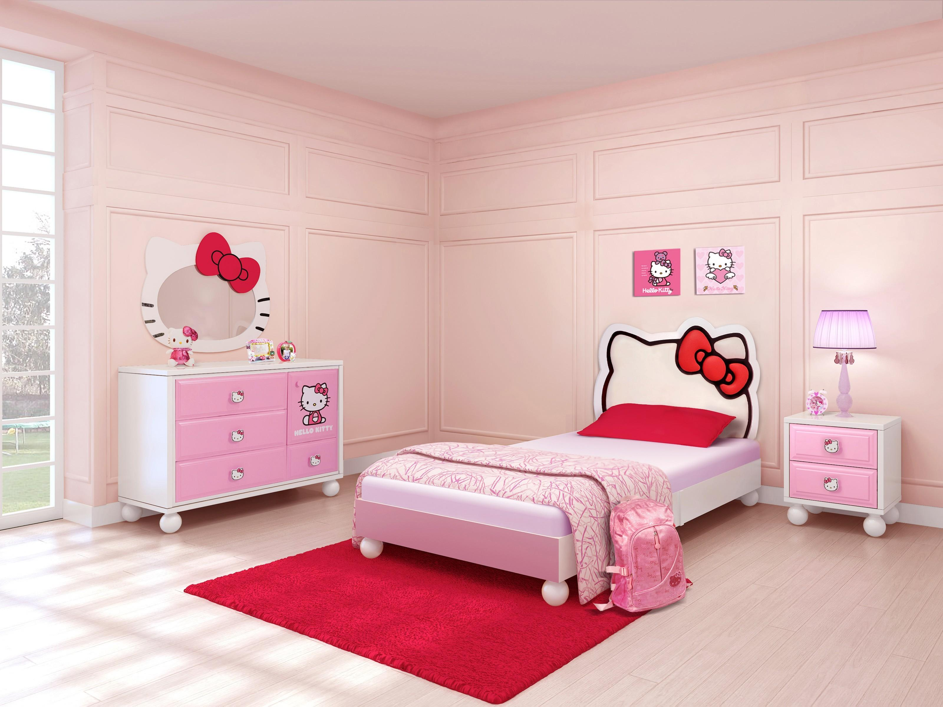 Luxury Hello Kitty Bedroom Ideas Maverick Mustang