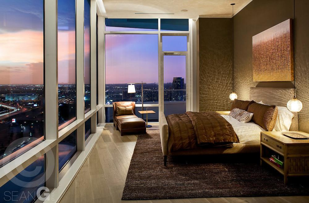 Luxury High Rise Condo Sunset Sean Gallagher Photography