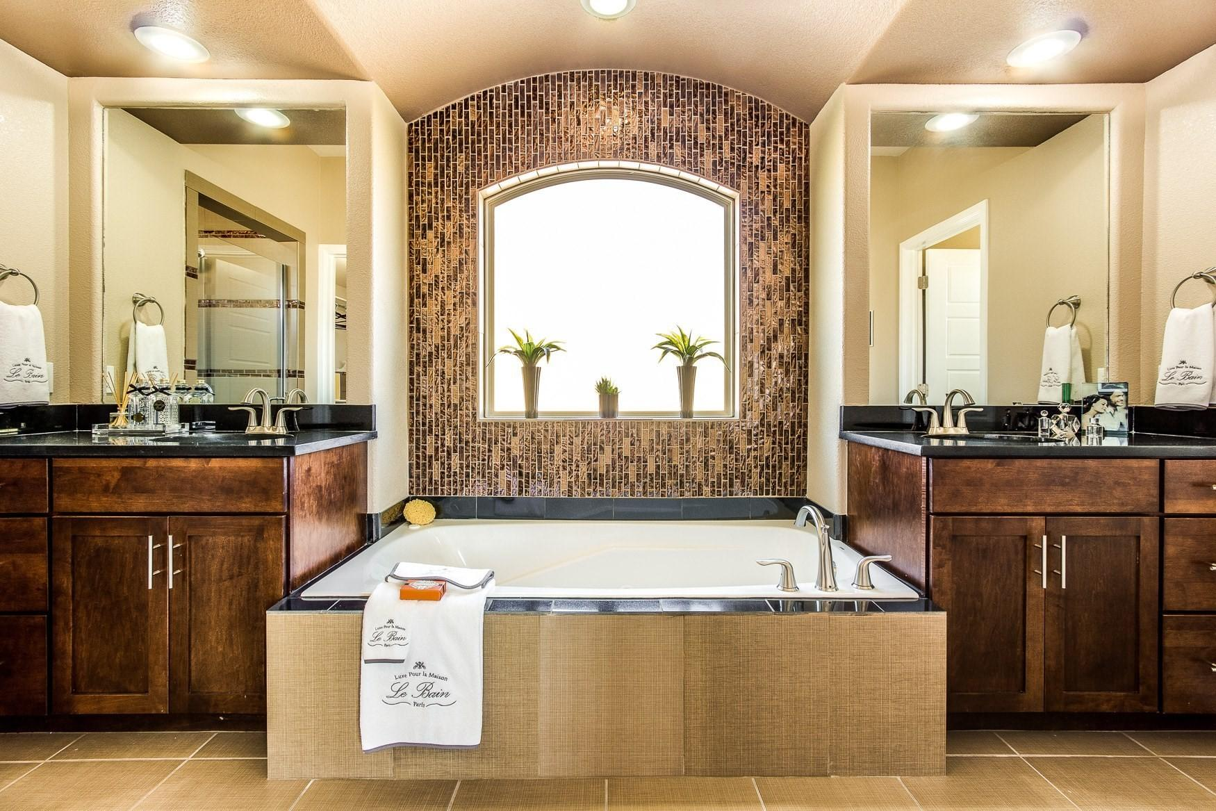 Luxury Home Spa Bathrooms Paso Winton Homes