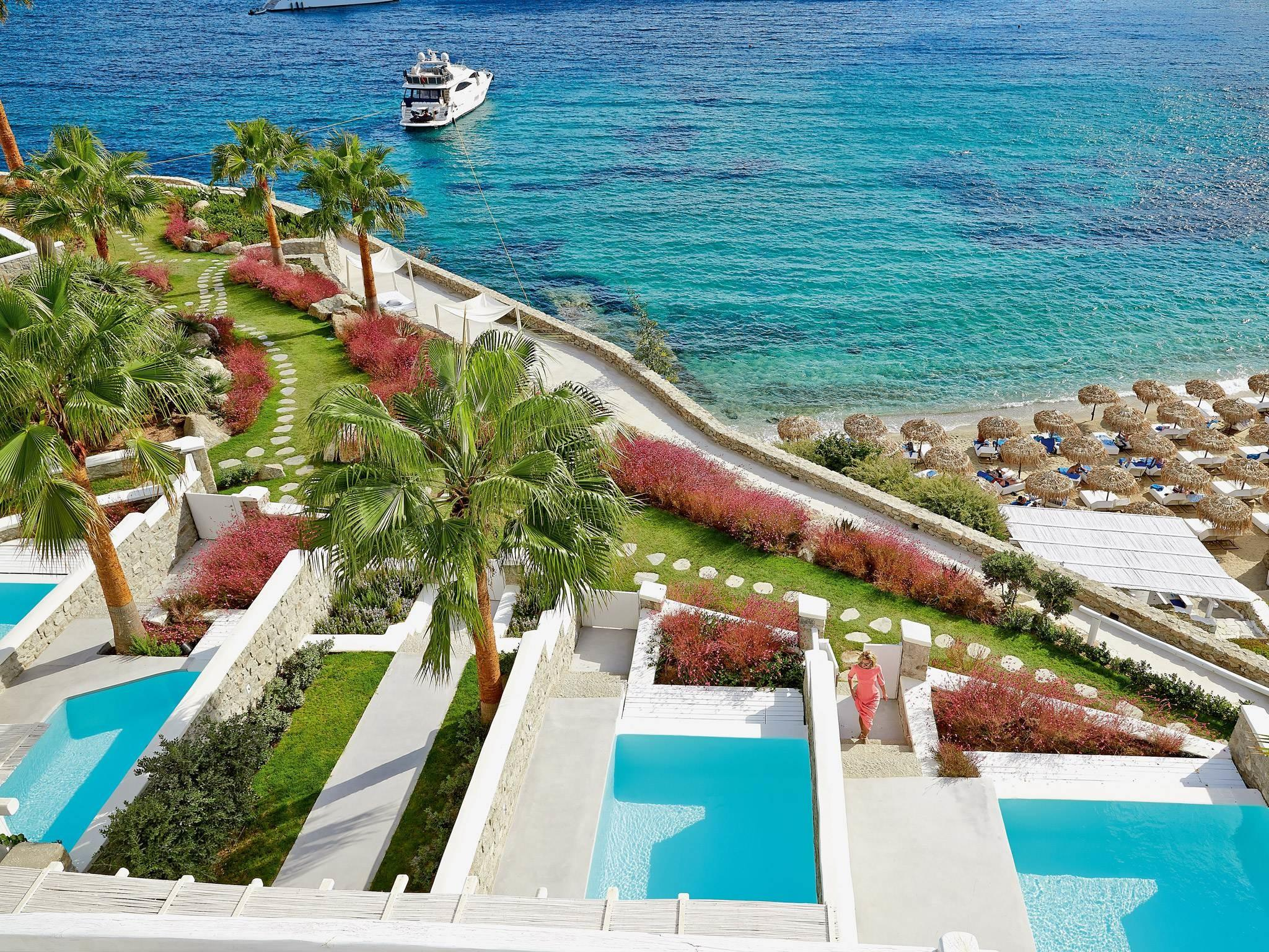 Luxury Hotel Mykonos Blu Resort Psarou Beach
