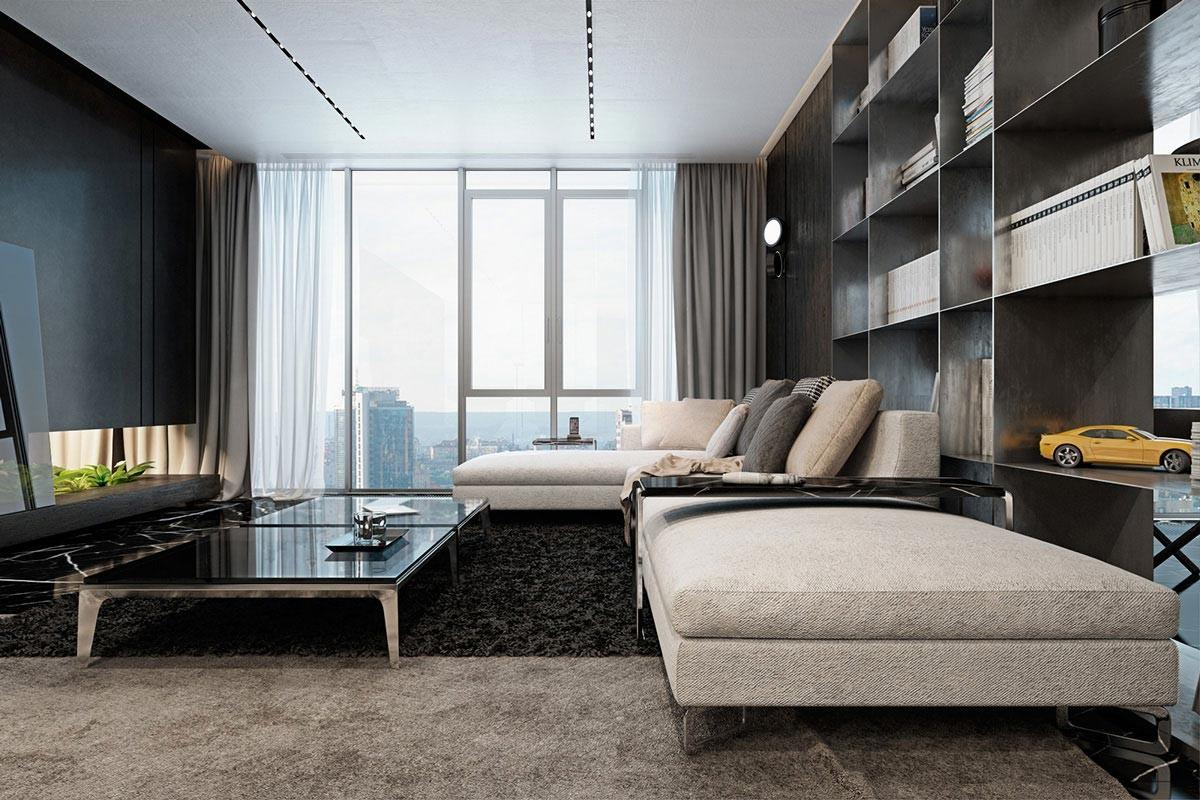 Luxury Kiev Apartment Visualized Iryna Dzhemesiuk